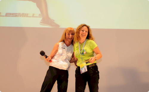 Maureen Baker & Constance Ruiz at the 4th Annual Vivafit Convention